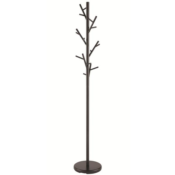Modern Black Hall Tree Branch Metal Coat Rack