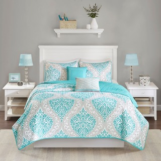 Intelligent Design Lilly 5-piece Coverlet Set