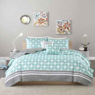 Intelligent Design London 5-piece Coverlet Set