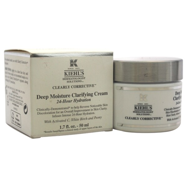 Kiehl's Clearly Corrective Deep Moisture 1.7-ounce Clarifying Cream