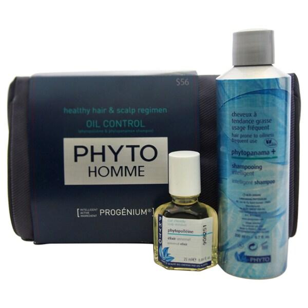 Phyto Homme Healthy Hair & Scalp Regimen Oil Control Kit