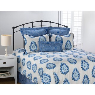 Alcott Special Blue Medallion 4-piece Comforter Set