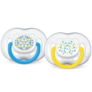 Philips Avent Contemporary Freeflow 6 to 18 Months Pacifier (Pack of 2)