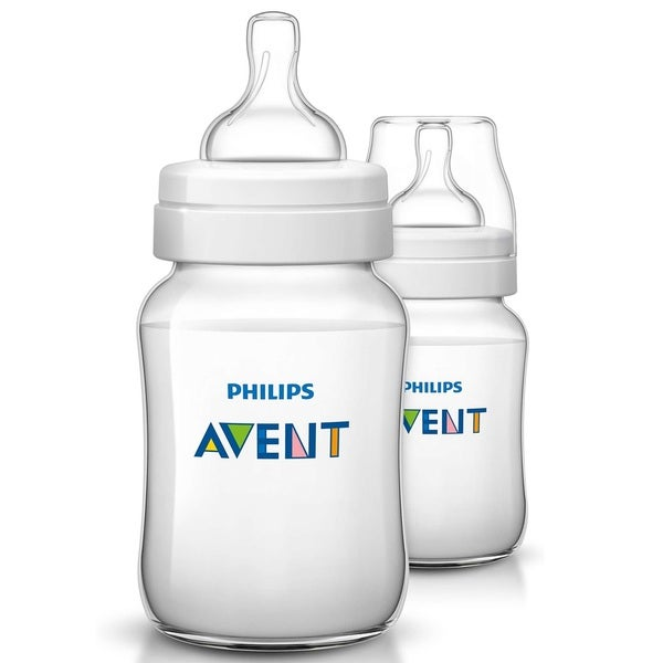 Philips Avent Classic Plus Polypropylene 9-ounce Bottle (Pack of 2)