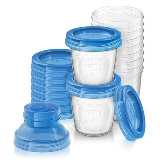 Philips Avent Breastmilk 6-ounce Storage Cups (Pack of 10)