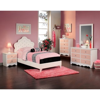 Sandberg Furniture Sabrina 4-piece Upholstered Bedroom Set