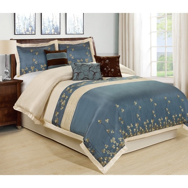 Fashion Street Vienna 7-piece Comforter Set