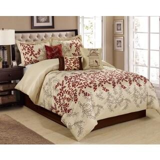 Fashion Street Saratoga 7-piece Comforter Set