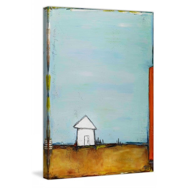 "Marmont Hill - ""Balance"" by Tori Campisi Painting Print on Canvas 15965001"