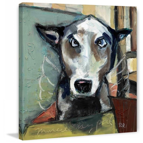 "Marmont Hill - ""Marcel"" by Tori Campisi Painting Print on Canvas"