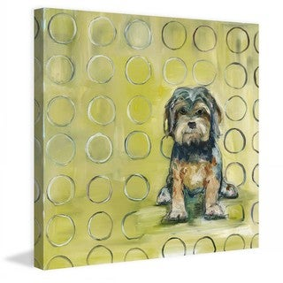 "Marmont Hill - ""Baxter"" by Tori Campisi Painting Print on Canvas"
