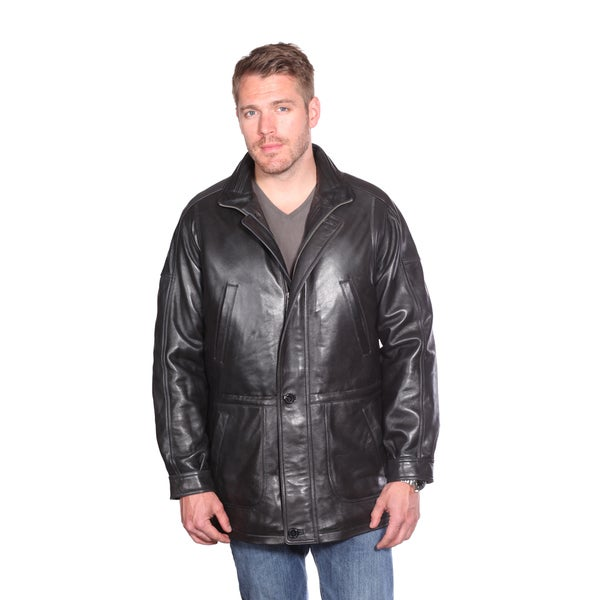 Mason & Cooper Men's Garner Leather Parka