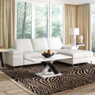 Charlotte Sectional and Ottoman