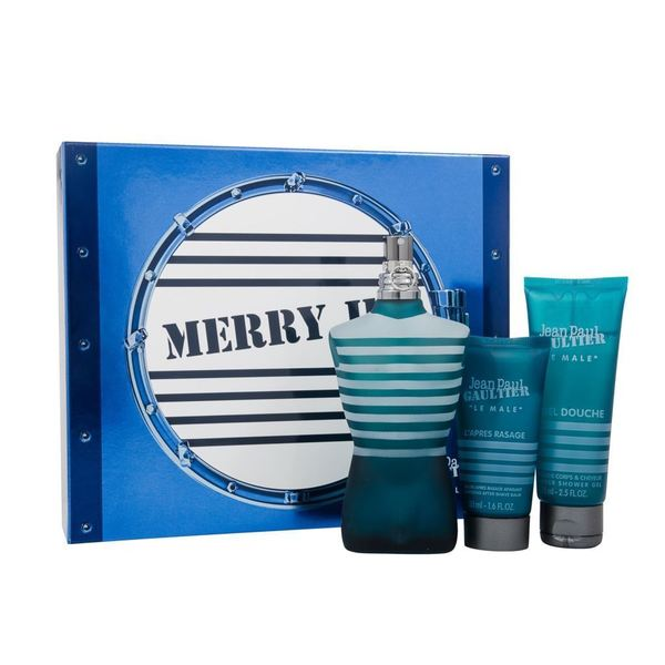 Le Male Merry JPG 3-piece Gift Set