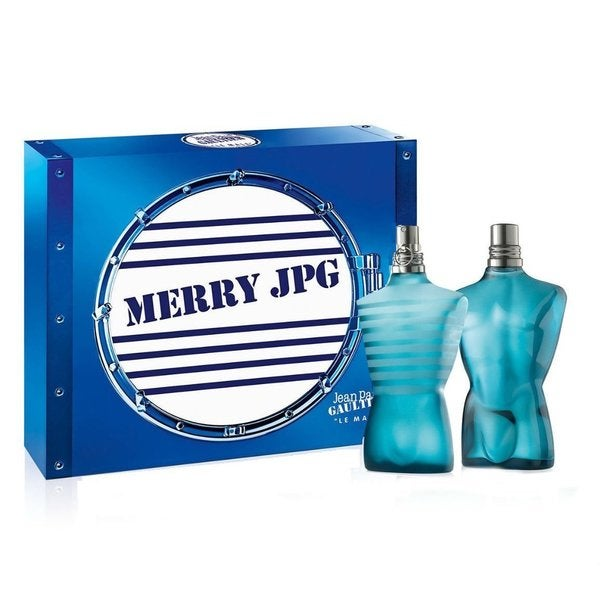 Le Male by Jean Paul Gaultier for Men 2-piece Merry JPG Gift Set