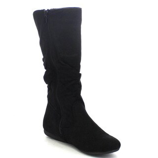 Forever Chiara-23 Women's Mid Calf Low Heel Slouchy Boots