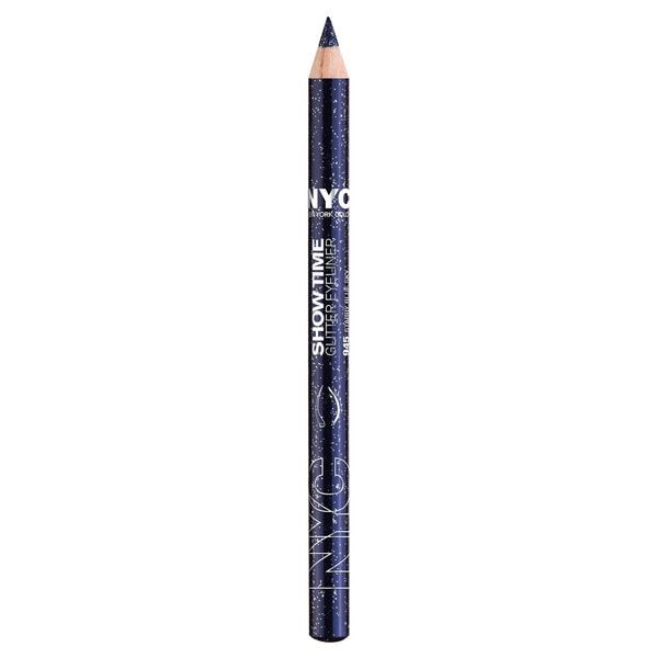 NYC New York Color Show Time Glitter Starry Blue Sky Eyeliner Pencil