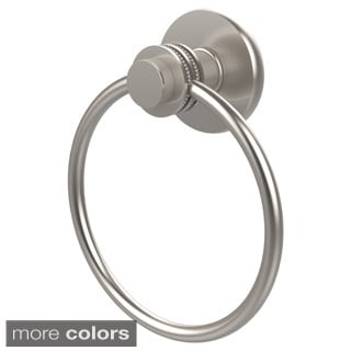Allied Brass Mercury Collection Towel Ring with Dotted Accent