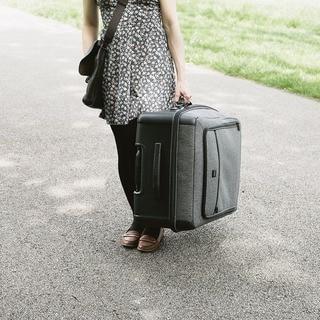 Lojel Exos III 30-inch Large Upright Spinner Suitcase