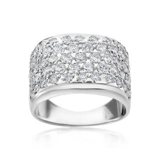 SummerRose 14k White Gold 2 1/8ct TDW Diamond Ring (H-I, SI1-SI2)