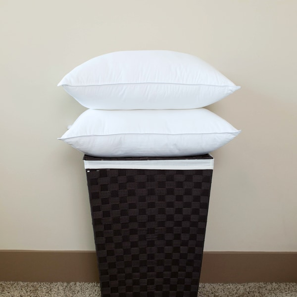 Luxury Primaloft Down Alternative Soft-Medium Jumbo Pillows (Set of 2)