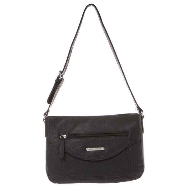 Stone Mountain Amherst Black Hobo Bag