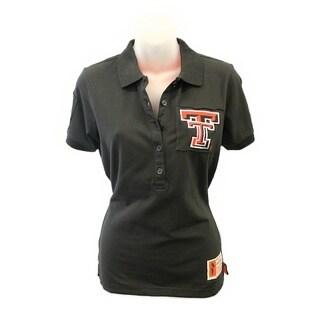 NCAA Texas Tech Ladies Collar Scholar Polo