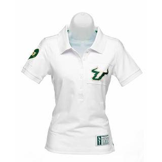 NCAA USF Ladies Collar Scholar Polo