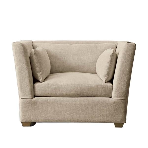 Foley Chair - Parchment Linen