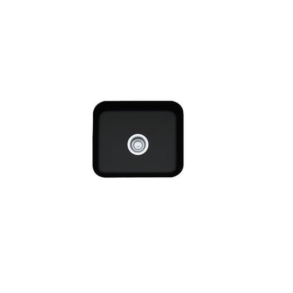 Franke Cisterna Undermount 19-inch - Matte Black