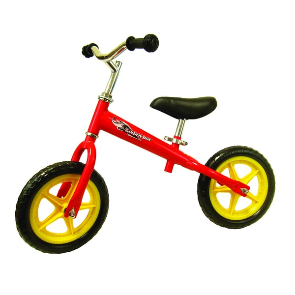 Joyriders Goldenboy Red Metal Balance Bike