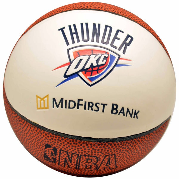 Spalding OKC Thunder Logo Mini Basketball