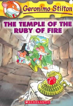The Temple of the Ruby of Fire (Paperback)