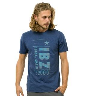 CCR Brand Men's IBZ Vintage Crew T in Blue