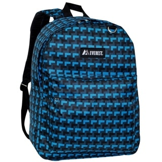 Everest 16.5-inch Classic Blue Steps Backpack