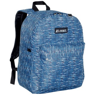 Everest 16.5-inch Classic Blue Tweed Backpack