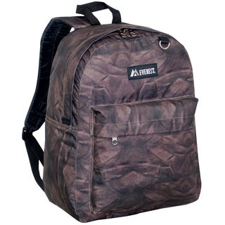 Everest 16.5-inch Classic Brown Rock Backpack
