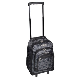 Everest 18-inch Dark Grey Wheeled Backpack