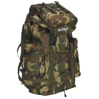 Everest 24-inch Woodland Camo Hiking Backpack
