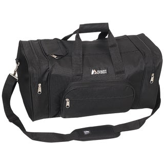 Everest 20-inch Carry On Classic Black Gear Duffel Bag