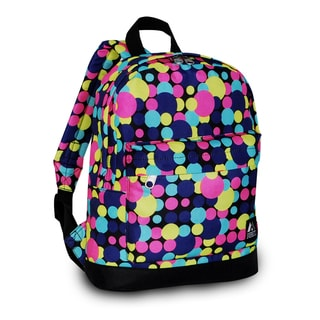Everest 13-inch Basic Small Junior Multi-colored Polka Dot Pattern Backpack
