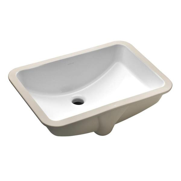Kohler Ladena Undermount Bathroom Sink with Overflow