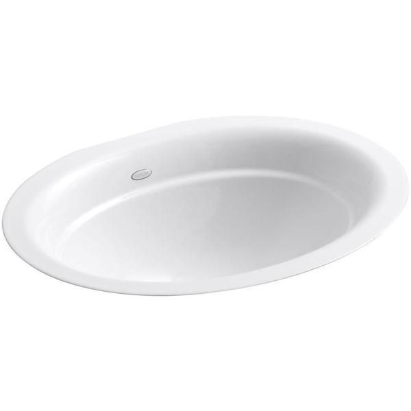 Kohler Serif Undermount Bathroom Sink in White