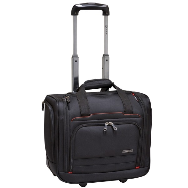 Traveler's Club 16-inch Flex File Rolling Carry On 13-inch Laptop Tote Bag