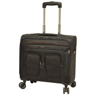 Travelers Club Flex-file Rolling Spinner Briefcase