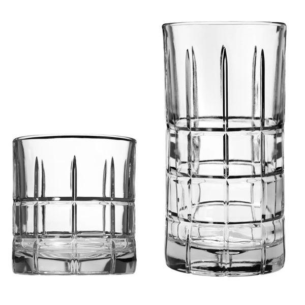 Anchor Hocking Manchester 16-piece Drinkware Set