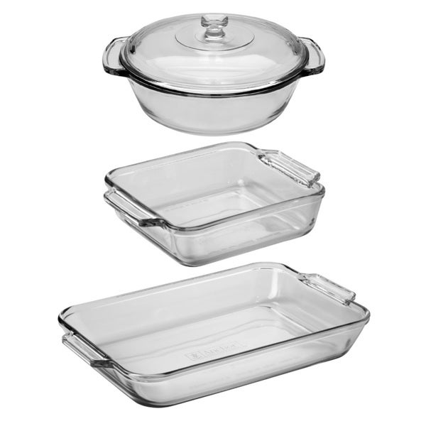 Anchor Hocking 4-piece Bake Set 15976255