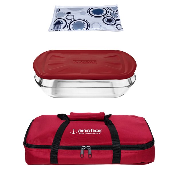 Anchor Hocking 4-piece Essentials Bake Set 15976257