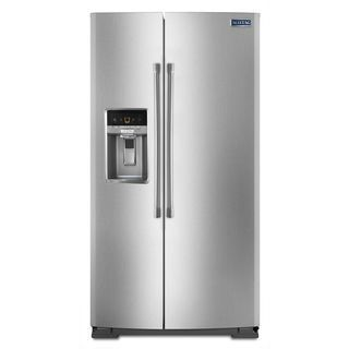 Maytag 26.0 Cubic Foot Side by Side Refrigerator MSB26C6MD