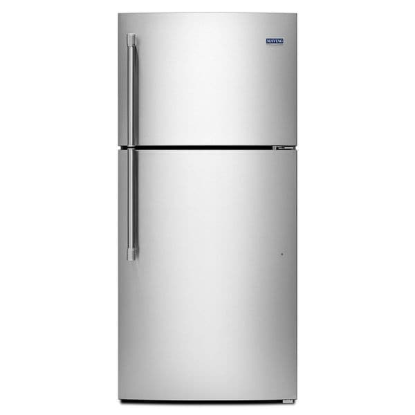 Maytag heritage series 19 1 cubic foot top freezer for 18 cubic foot french door refrigerator